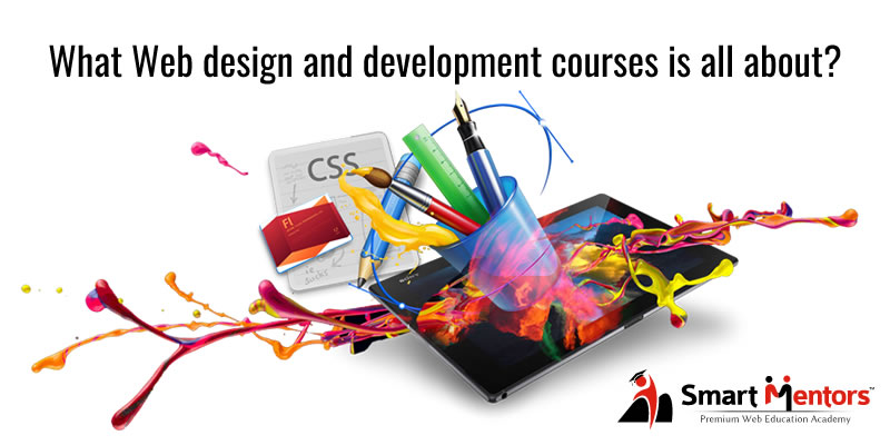 What Web design and development courses is all about