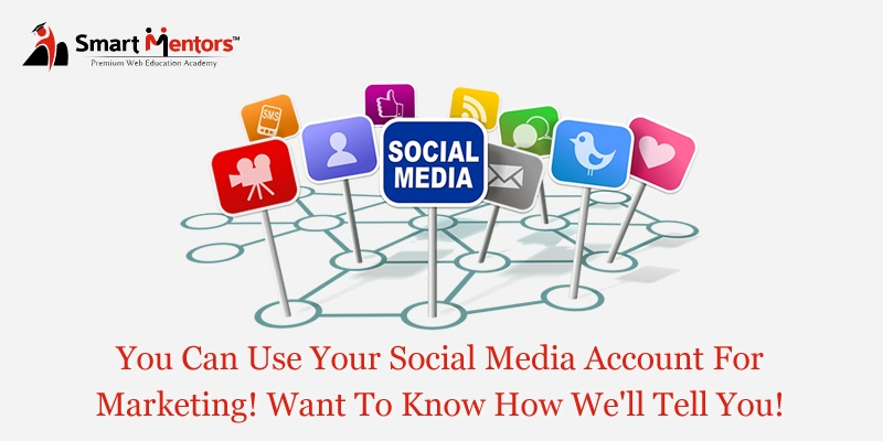You Can Use Your Social Media Account For Marketing! Want To Know How? We'll Tell You!