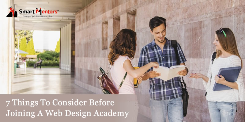 7 things to consider before joining a Web Design Academy
