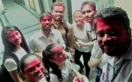 Holi Celebrations at Smart Mentors